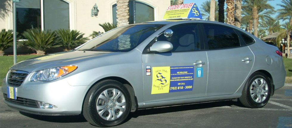 Picture of Student Driver.  Silver State Driving Academy, private driving lessons, private driving instructors, serving Las Vegas, NV with safe driving lessons.